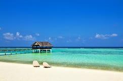 Opinião do Seascape Fotografia de Stock Royalty Free