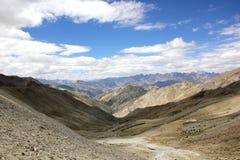 Opinião do sudoeste da passagem do Ganda-La Fotos de Stock Royalty Free