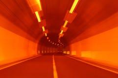 Opinião do túnel Fotografia de Stock Royalty Free