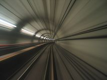 Opinião do túnel imagens de stock