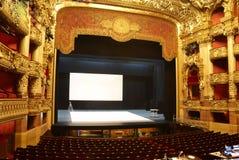 Opinião do teatro Fotografia de Stock