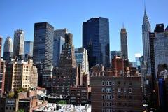 Opinião do telhado à zona leste superior Manhattan Imagem de Stock