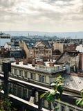 Opinião do telhado Imagens de Stock Royalty Free