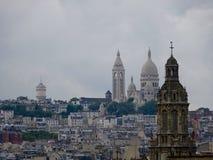 Opinião do telhado - cidade de Paris Fotografia de Stock Royalty Free
