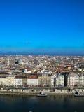 Opinião do telhado de Budapest Imagem de Stock Royalty Free