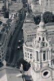 Opinião do telhado de Londres foto de stock