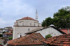 Opinião do telhado de Safranbolu foto de stock royalty free