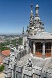 Opinião do telhado no local do patrimônio mundial do UNESCO Imagem de Stock