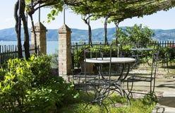 Opinião do terraço Imagem de Stock Royalty Free