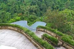 Opinião do terraço Imagens de Stock