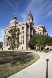 Opinião do tribunal de Tarrant County da construção histórica foto de stock