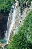 Parque nacional dos lagos Plitvice (Croatia) fotografia de stock