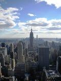 Opinião dos arranha-céus do Lower Manhattan Fotografia de Stock