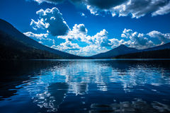 Opinião dos lagos Bowron Imagem de Stock Royalty Free