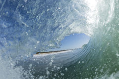 A opinião dos surfistas Foto de Stock