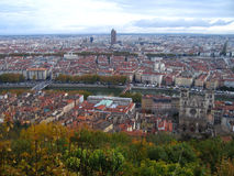 Lyon France Imagem de Stock Royalty Free