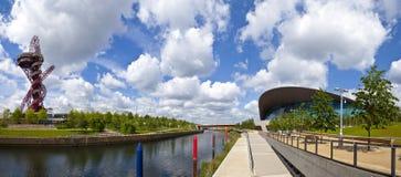 Opinião Elizabeth Olympic Park foto de stock