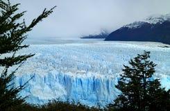 Opinião excitante Perito Moreno Glacier no parque nacional do Los Glaciares, Santa Cruz Province, Patagonia, Argentina fotos de stock