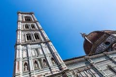 Opinião exterior Florence Cathedral em Itália Imagem de Stock Royalty Free