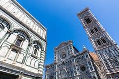 Opinião exterior Florence Cathedral em Itália Fotos de Stock