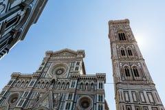 Opinião exterior Florence Cathedral em Itália Imagens de Stock