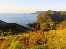 Opinião fantástica do mar Fotografia de Stock Royalty Free