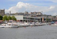 Opinião geral Bristol Harbour Festival Fotos de Stock Royalty Free