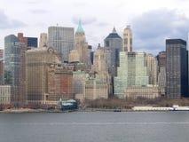 Opinião geral de New York City Manhattan Imagem de Stock