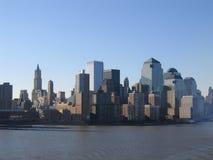 Opinião geral de New York City Manhattan foto de stock