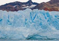 Opinião geral o Perito Moreno Glacier argentina Paisagem Fotografia de Stock Royalty Free