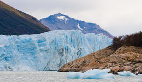 Opinião geral o Perito Moreno Glacier argentina Paisagem Imagem de Stock Royalty Free