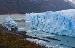 Opinião geral o Perito Moreno Glacier argentina Paisagem Foto de Stock Royalty Free