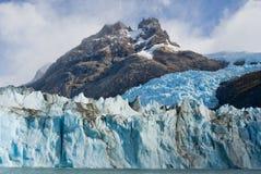 Opinião geral o Perito Moreno Glacier argentina Paisagem Imagens de Stock