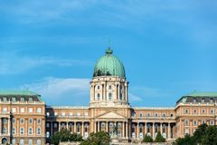 Opinião húngara do close up do National Gallery fotografia de stock