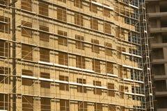 Opinião horizontal do local da construção civil Foto de Stock Royalty Free