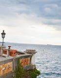 Opinião impressionante do mar Foto de Stock