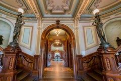 Opinião interior Crocker Art Museum bonito Imagem de Stock Royalty Free