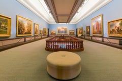 Opinião interior Crocker Art Museum bonito Imagens de Stock Royalty Free