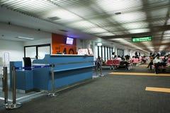 Opinião interior Don Mueang International Airport Fotografia de Stock