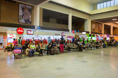 Opinião interior Don Mueang International Airport Imagens de Stock Royalty Free