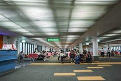 Opinião interior Don Mueang International Airport Fotos de Stock Royalty Free
