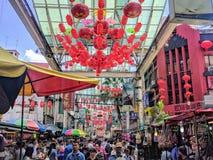 Opinião Kuala Lumpur, Malásia Fotos de Stock Royalty Free