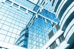 Opinião larga panorâmico e da perspectiva de ângulo ao aço Foto de Stock Royalty Free