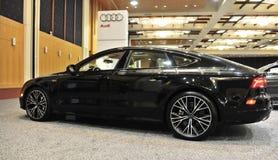 Opinião lateral de Audi Quattro Exotic Sports Car 2017 imagens de stock