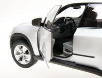 Opinião lateral de BMW SUV Imagem de Stock