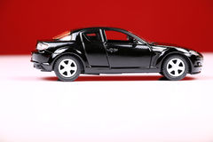 Opinião lateral de Mazda rx-8 Foto de Stock