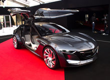 Opinião lateral de Opel Monza Fotografia de Stock