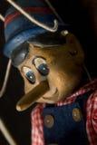 Opinião lateral de Pinocchio Fotografia de Stock