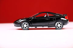 Opinião lateral do celicia de Toyota Foto de Stock Royalty Free