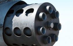 Opinião lateral um Avenger canhão de 30 milímetros Foto de Stock